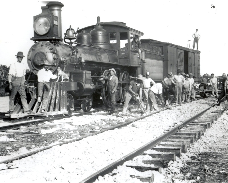 Double-tracking Flagler's Florida East Coast Railway, ca. 1928
