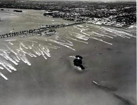 1959 Gold Coast Marathon from North Miami to West Palm Beach on the Intracoastal