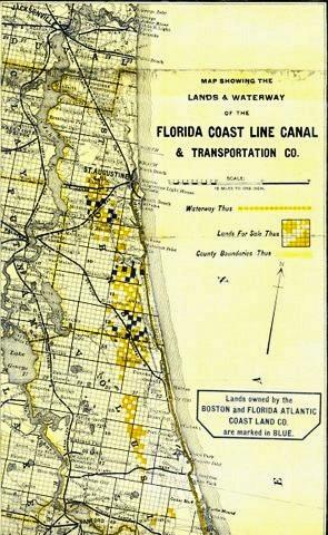 Florida East Coast Map.Florida East Coast Canal Floridasbigdig Me