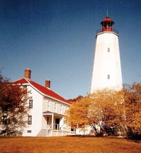 Sandy Hook Light (1764) Oldest Working Lighthouse in the U.S.