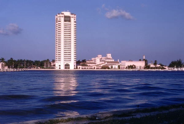 Lake Boca Raton and Boca Raton Hotel & Club (in the background)