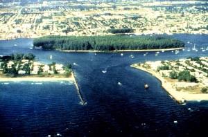 IInlet a/k/a Palm Beach Inlet.