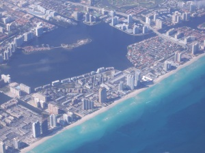 Dumfoundling Bay, surrounded by Aventura, North Miami, and North Miami Beach. Part of the Intracoastal Waterway.