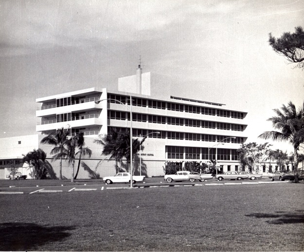 Now known as Broward Health, Deerfield Beach, it was called North District Hospital, the first hospital built from the ground up by the North Broward Hospital District.  The first hospital in the District was Provident Hospital, a black hospital built in 1938. It merged with the District upon the District's formation in 1950.