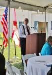 Author, Bill Crawford, presents keynote speech at the LWDD Centennial Celebration