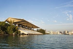 Designed by Cuban-born Hilario Candela, a 28-year-old architect, the stadium opened in 1963.