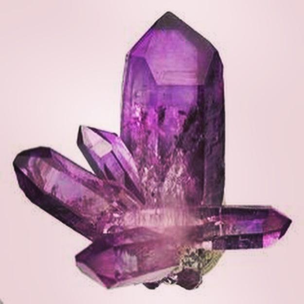 Purple Quartz Crystal (amethyst)