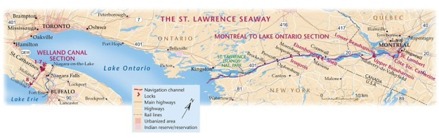 THE SAINT LAWRENCE SEAWAY