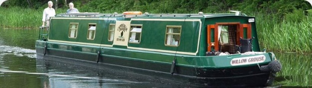 Scottish canal boat